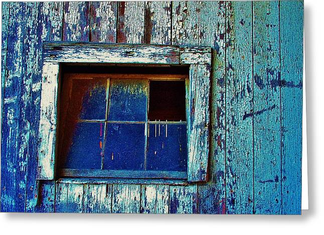 Barn Window 1 Greeting Card