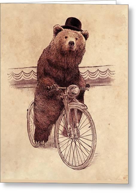 Barnabus Greeting Card by Eric Fan