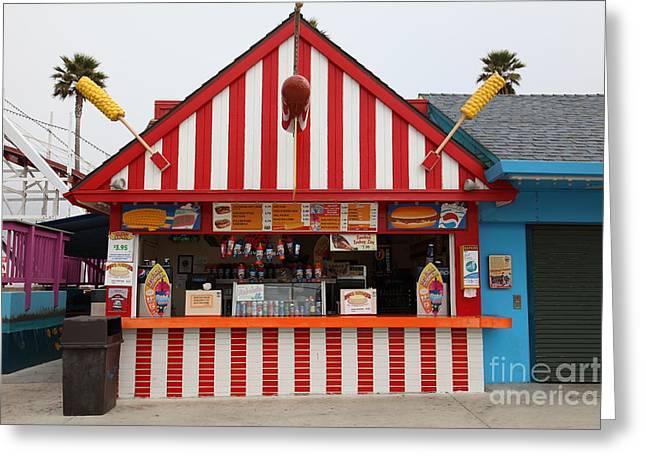 Barnacle Bills At The Santa Cruz Beach Boardwalk California 5d23627 Greeting Card by Wingsdomain Art and Photography