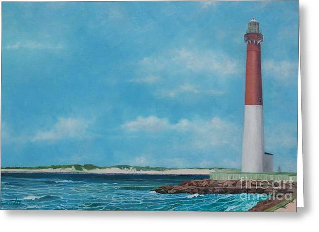 Barnegat Bay Lighthouse Greeting Card
