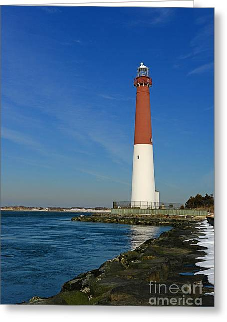 Barnegat Inlet Lighthouse Greeting Card