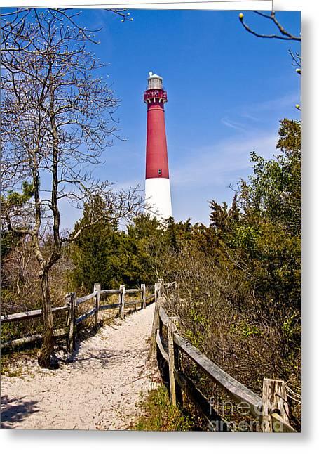 Barnegat Lighthouse II Greeting Card