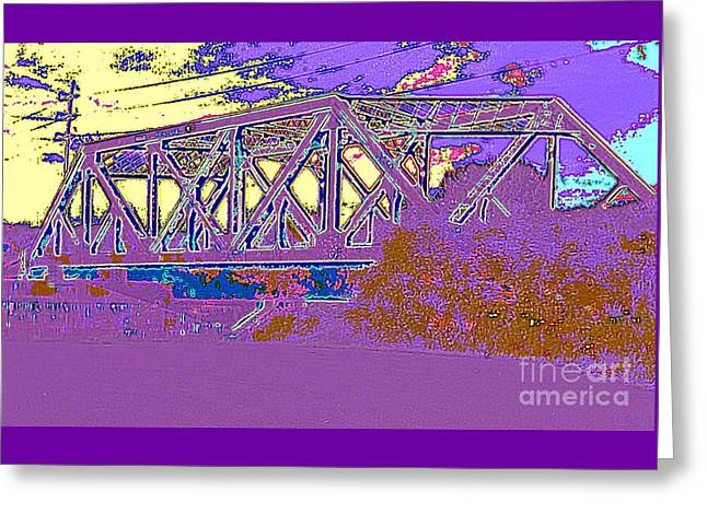 Barnes Ave Erie Canal Bridge Greeting Card by Peter Gumaer Ogden
