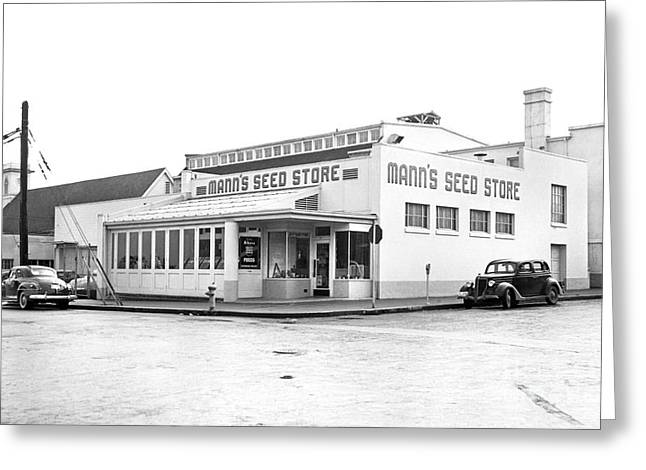 Barnes Seed Store Greeting Card