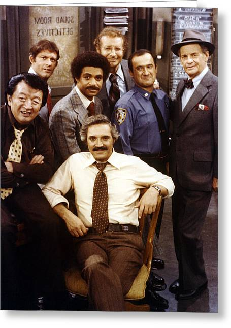 Barney Miller  Greeting Card by Silver Screen