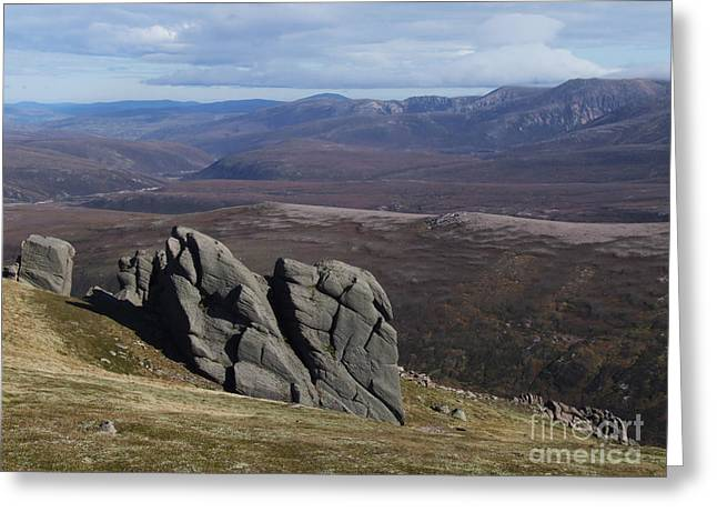 Greeting Card featuring the photograph Barns Of Bynack - Cairngorm Mountains by Phil Banks