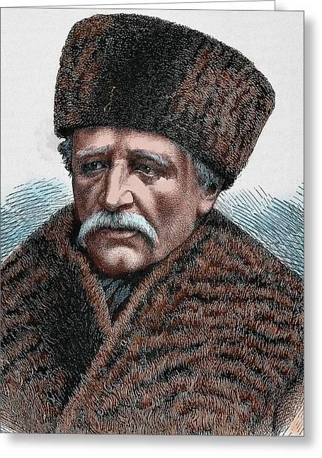 Baron Adolf Erik Nordenskjold Greeting Card by Prisma Archivo