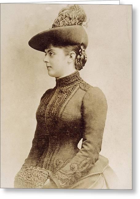 Baroness Marie Vetsera (c1871-1889) Greeting Card