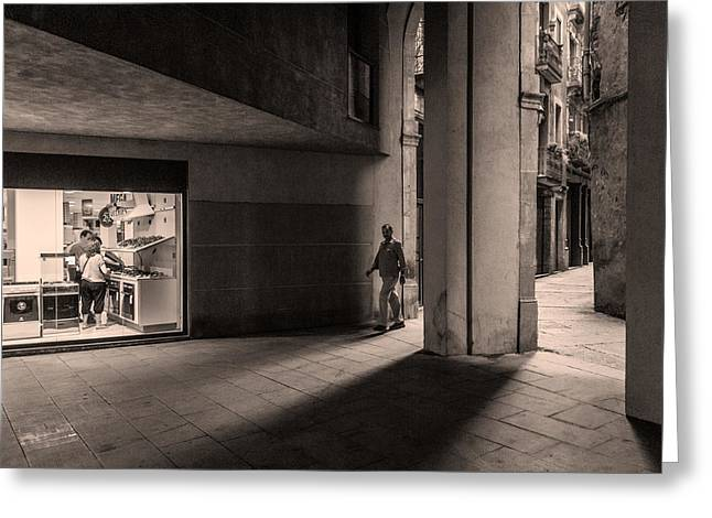 Barri Del Born, Barcelona Greeting Card