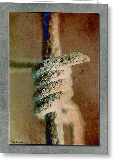 Barrier 1 Greeting Card