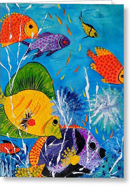 Barrier Reef Fish Greeting Card