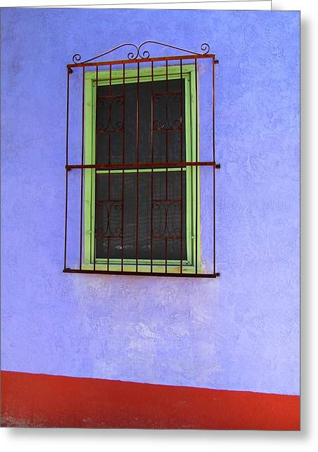 Greeting Card featuring the photograph Barrio Historico by Brenda Pressnall