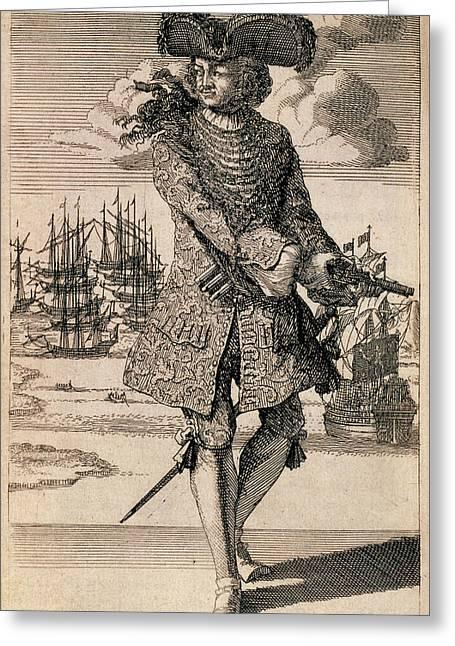 Bartholomew Roberts Greeting Card by British Library