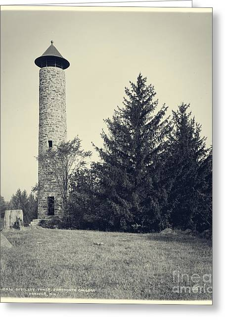 Bartlett Tower Dartmouth College Hanover Nh Greeting Card by Edward Fielding