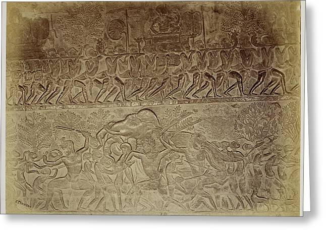 Bas-relief Greeting Card