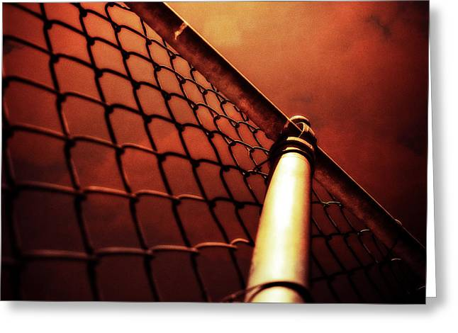 Baseball Field 11 Greeting Card by YoPedro