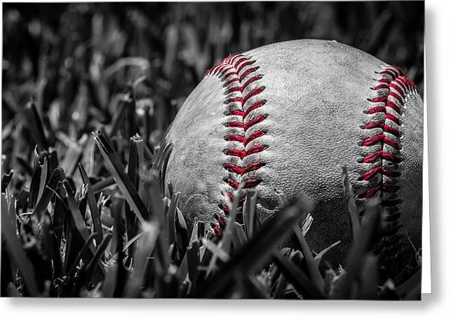 Baseball Nostalgia Series Number Two Greeting Card by Kaleidoscopik Photography