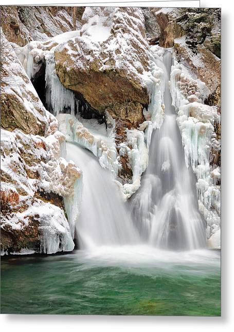Bash Bish Falls Greeting Card by Bill Wakeley