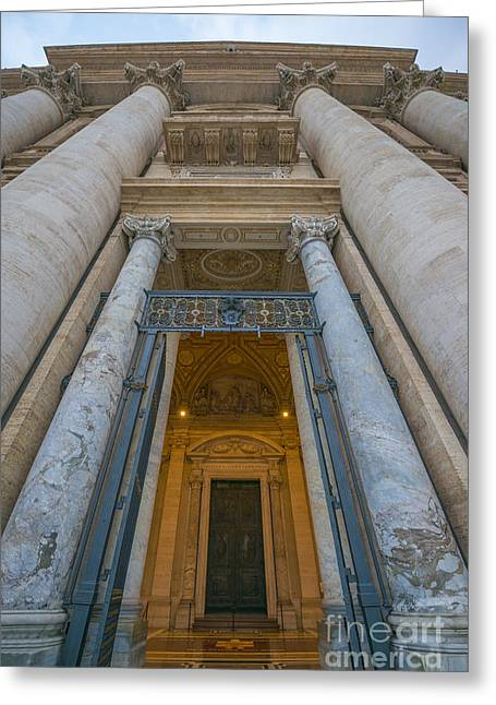Basilica Di San Pietro Greeting Card by Mats Silvan