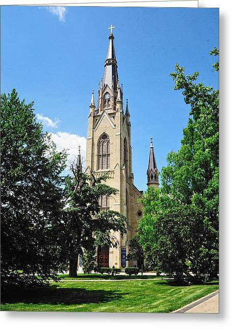 Basilica Of The Sacred Heart Greeting Card
