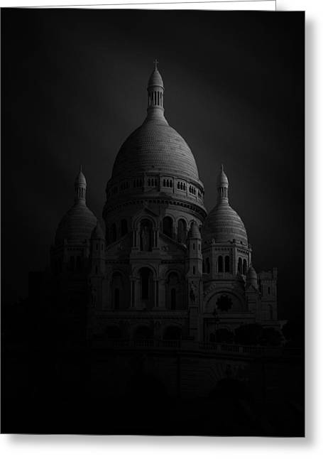 Basilique Du Sacre Coeur Greeting Card