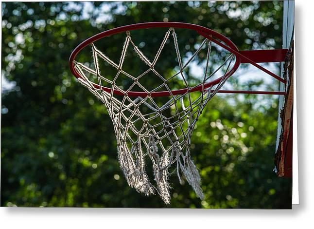 Basket - Featured 3 Greeting Card by Alexander Senin