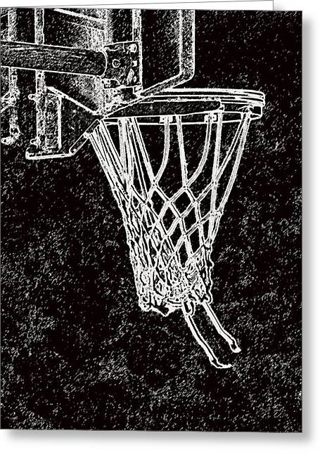 Basketball Years Greeting Card by Karol Livote
