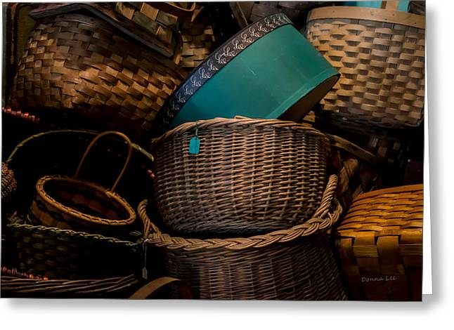 Baskets Galore Greeting Card