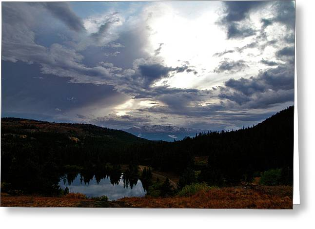 Basking In Twilight Greeting Card by Jeremy Rhoades