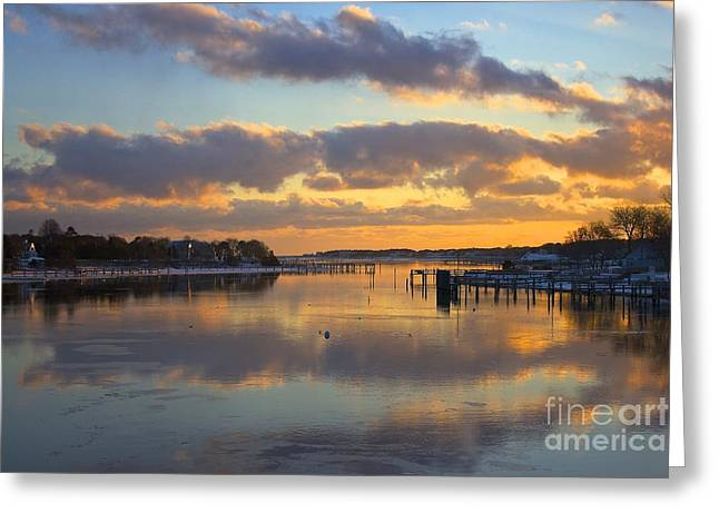 Bass River Reflection Greeting Card