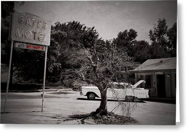 Bates Motel Greeting Card by RicardMN Photography