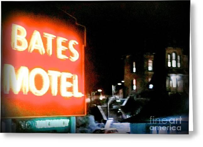 Bates Motel Vacancy Greeting Card