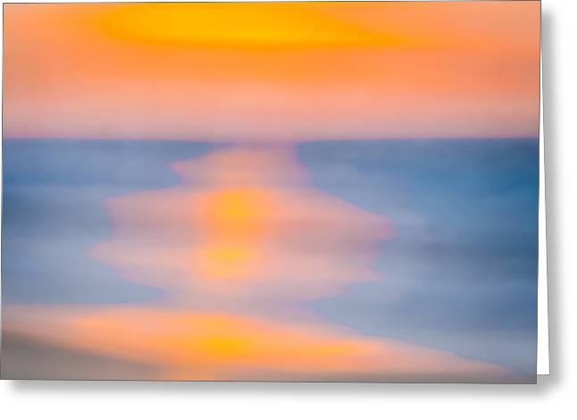 Bathing Corp Sunrise 3 Greeting Card by Ryan Moore