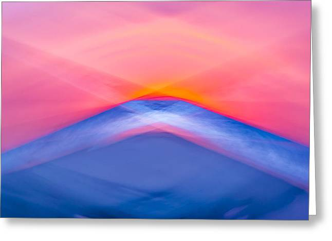 Bathing Corp Sunrise 5 Greeting Card by Ryan Moore