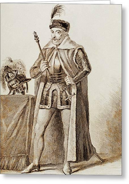 Bathory, Stephen I (1533-1586 Greeting Card by Prisma Archivo