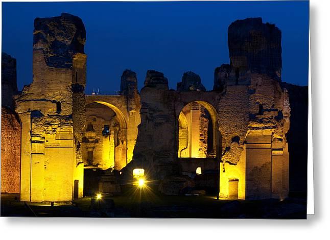 Baths Of Caracalla Greeting Card