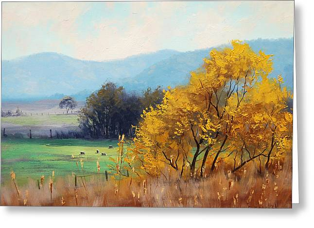Bathurst Landscape Greeting Card by Graham Gercken