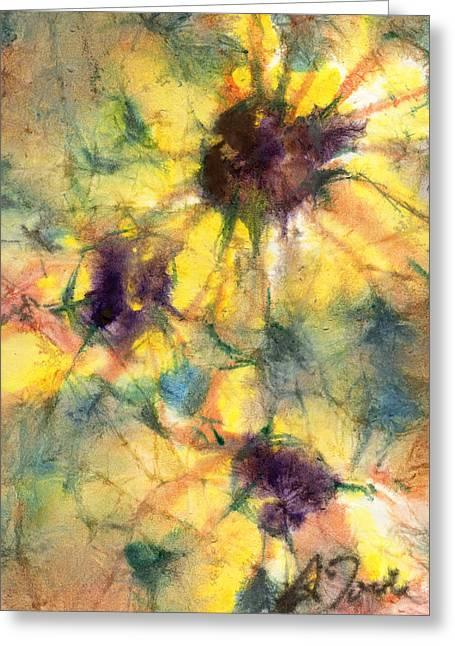 Batik Style No.44  Greeting Card by Sumiyo Toribe