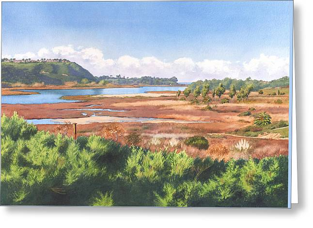 Batiquitos Lagoon Carlsbad California Greeting Card