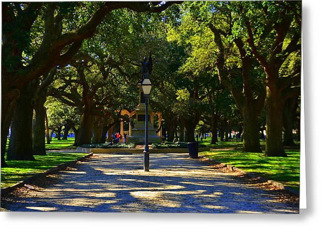 Battery Park White Point Gardens In Charleston Sc
