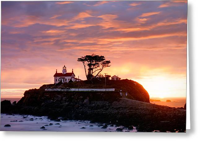 Battery Point 2 Greeting Card by Leland D Howard