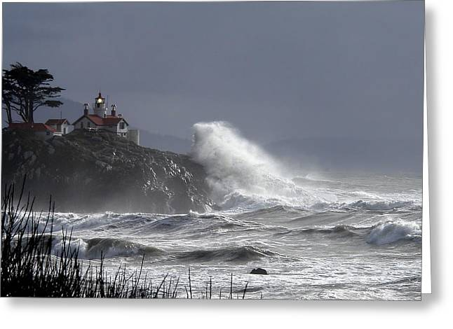 Battery Point Storm Greeting Card