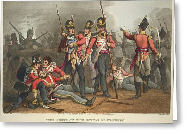 Battle Of Albuera Greeting Card