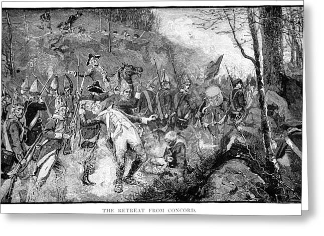 Battle Of Concord, 1775 Greeting Card