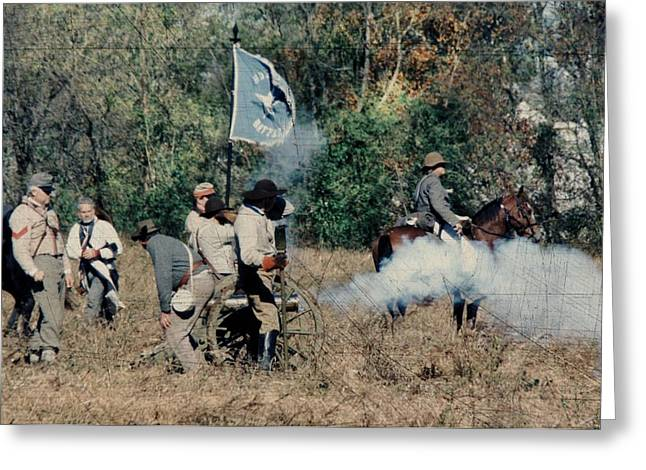 Battle Of Franklin - 3 Greeting Card