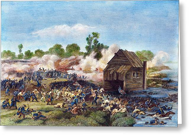 Battle Of Long Island, 1776 Greeting Card by Granger