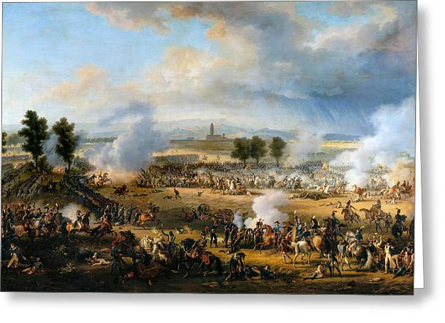Battle Of Marengo Greeting Card by Celestial Images