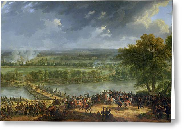 Battle Of Pont Darcole, 15th-17th November 1796, 1803 Oil On Canvas Also See 174337 Greeting Card by Baron Louis Albert Bacler d'Albe