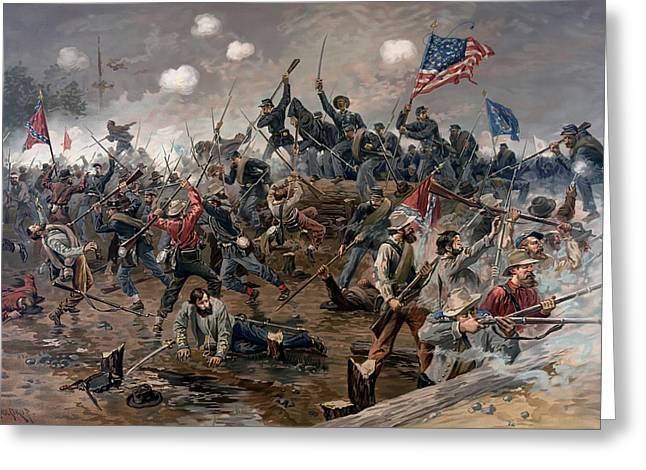 Battle Of Spotsylvania Greeting Card
