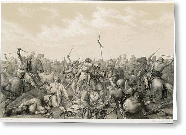 Battle Of Stamford Bridge Harald Greeting Card